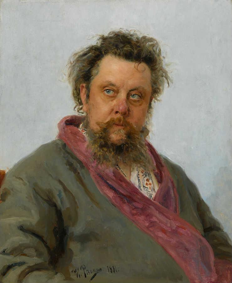 Портрет Мусоргского