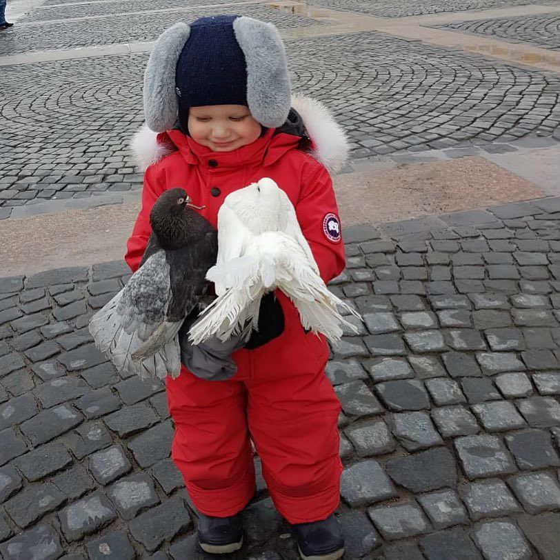 Сын Ксении Собчак и Максима Виторгана
