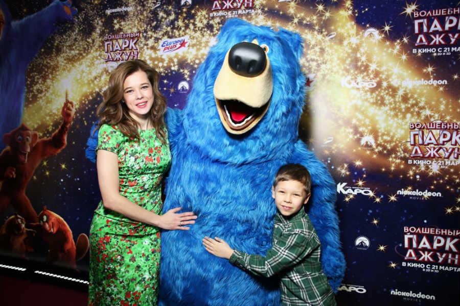 Екатерина Шпица с сыном