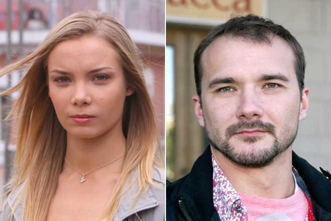 Арнтгольц Ольга и муж Дмитрий Петрунь