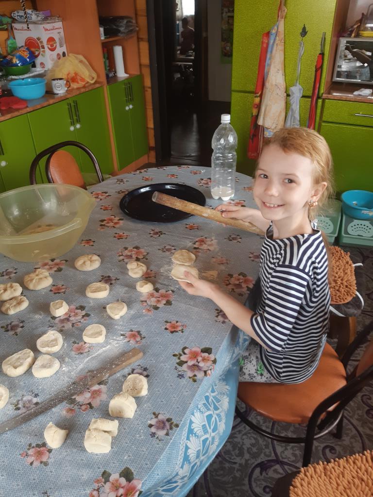 Вкусные пирожки от Жени.. Настоящая хозяйка