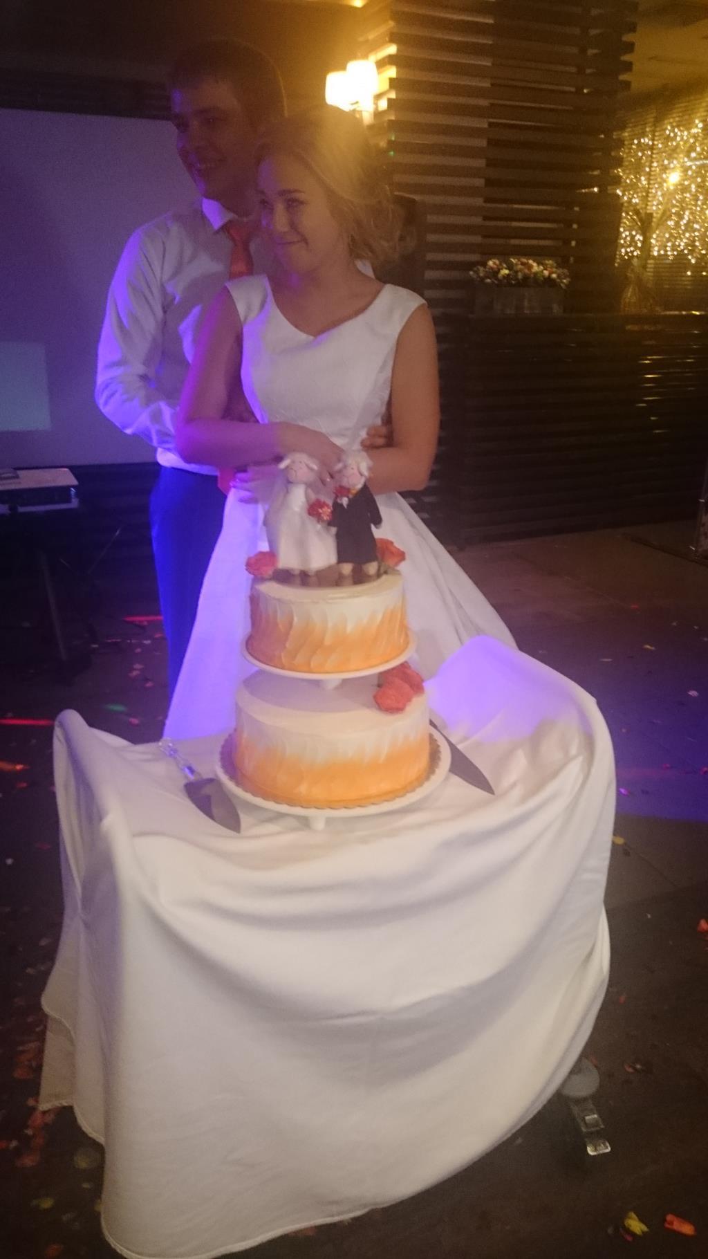 Свадебный торт руками мамы. Блиц: торт на заказ