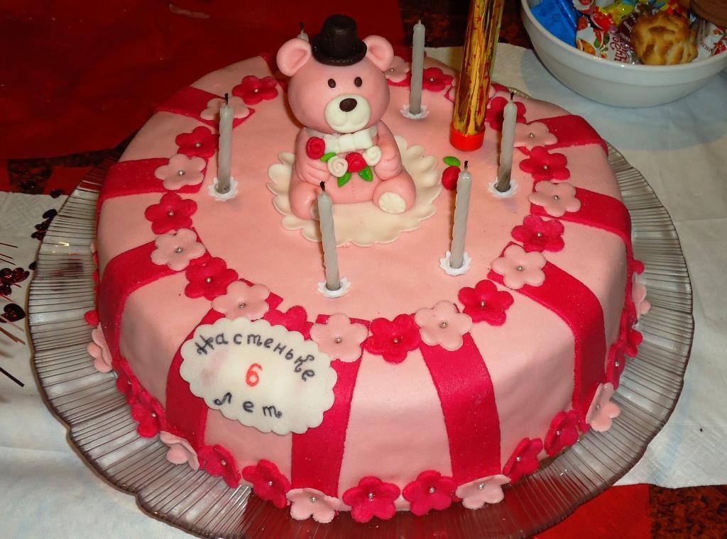 Тортик для Насти . Блиц: торт на заказ