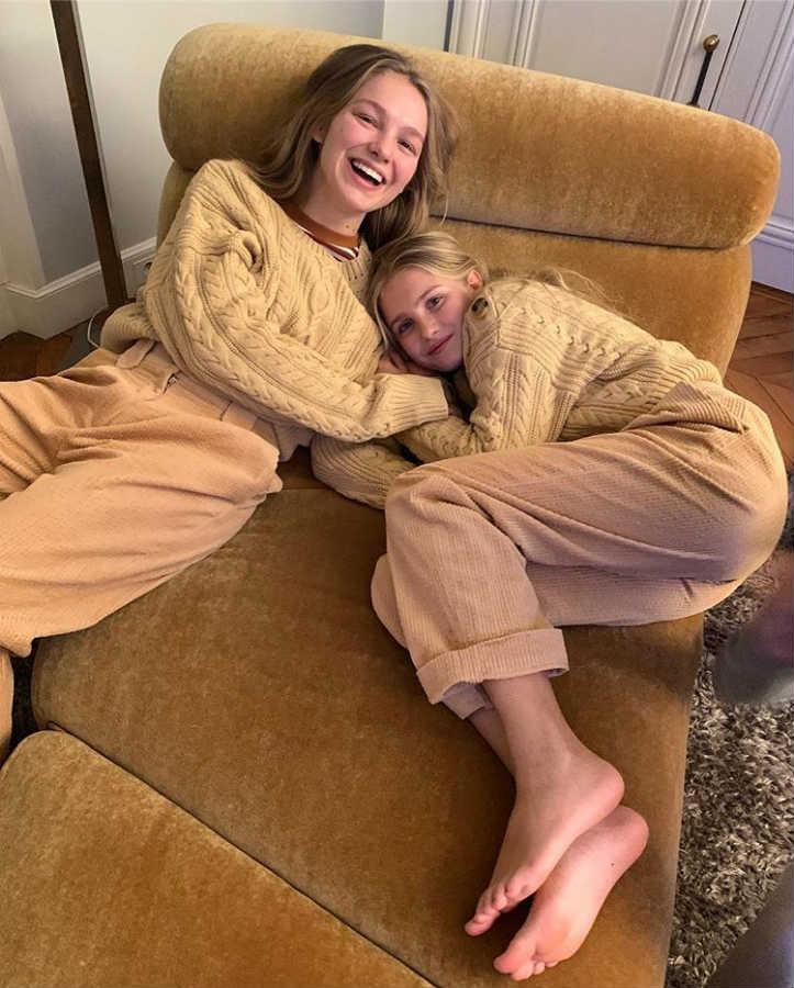 Сестра и дочь Натальи Водяновой