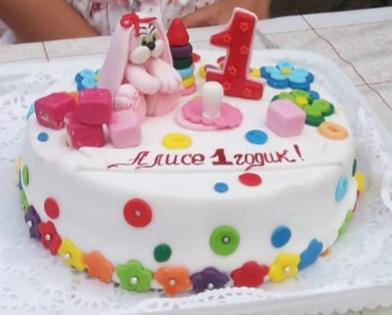 Наш первый тортик. Блиц: торт на заказ