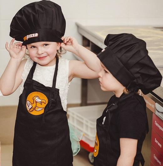 Юный пиццемейкер. Настоящая хозяйка
