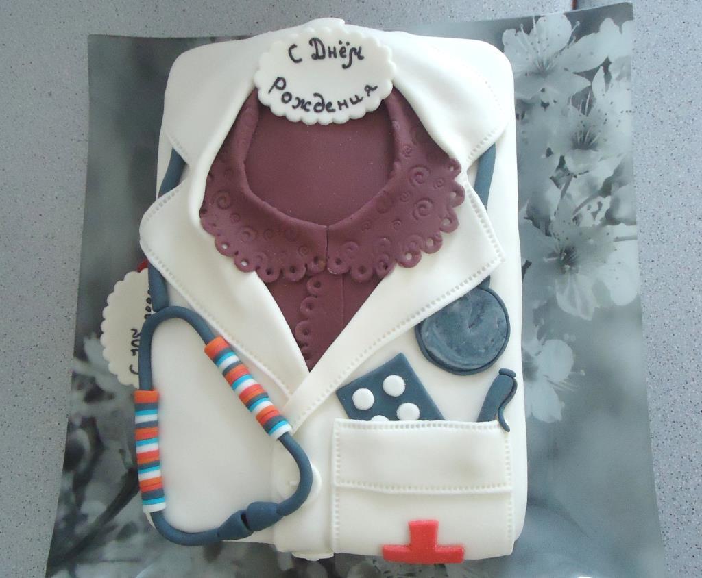 День рождения у врача. Блиц: торт на заказ