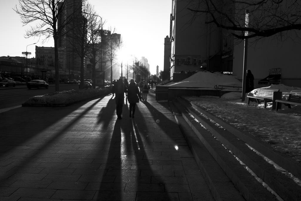 Городские тени. Блиц: улицы