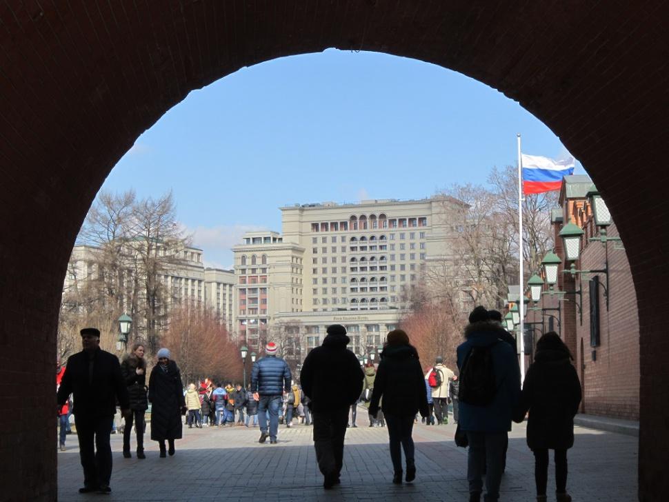 Прогулка по центру столицы. Блиц: улицы