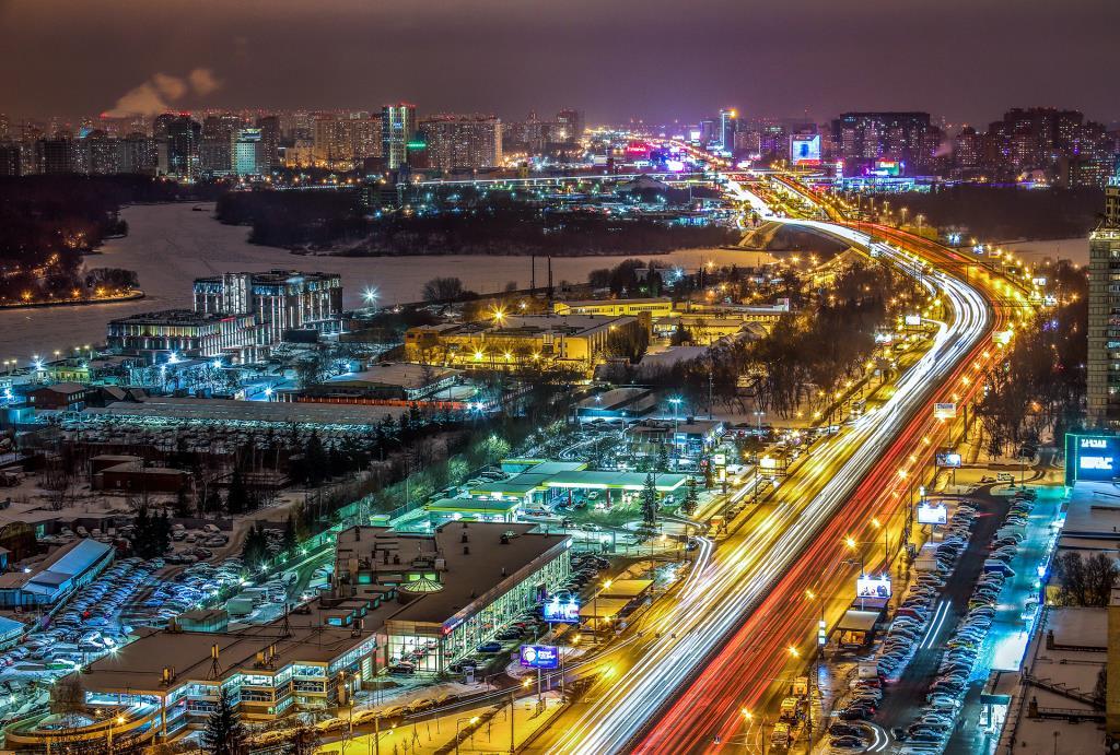 Москва. Ленинградское шоссе.. Блиц: улицы
