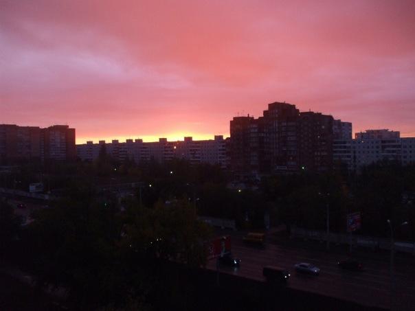 Городской рассвет. Блиц: улицы