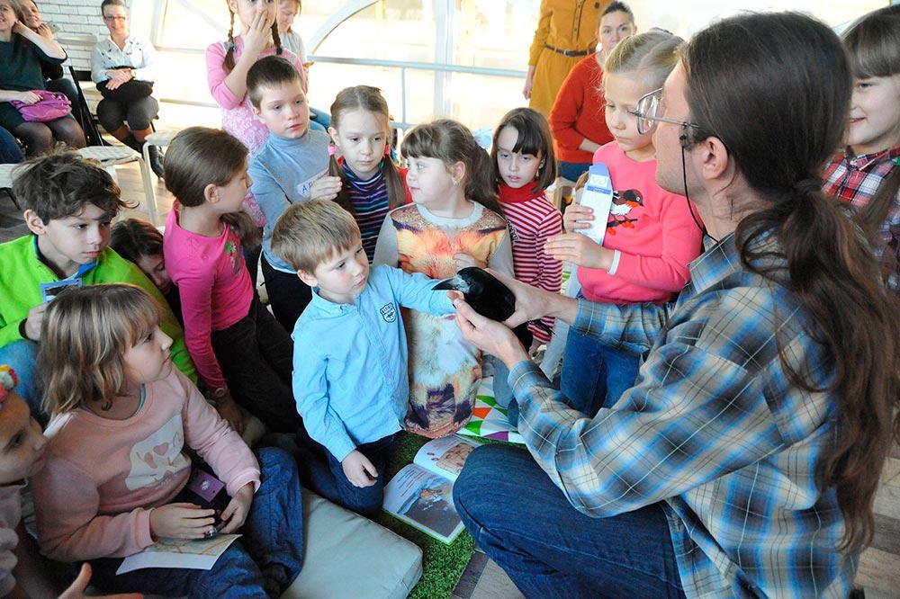 Лекции для детей в Московском зоопарке