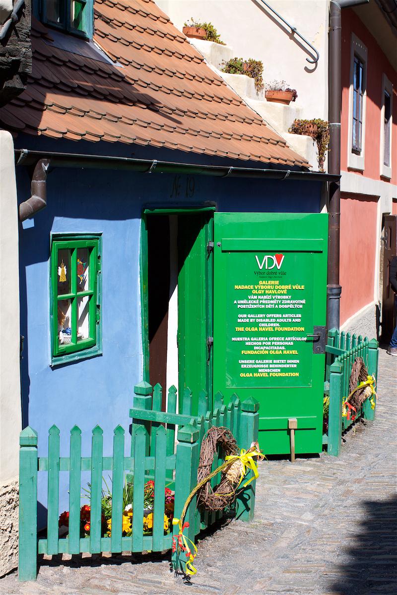 Злата улочка (Прага). Блиц: улицы