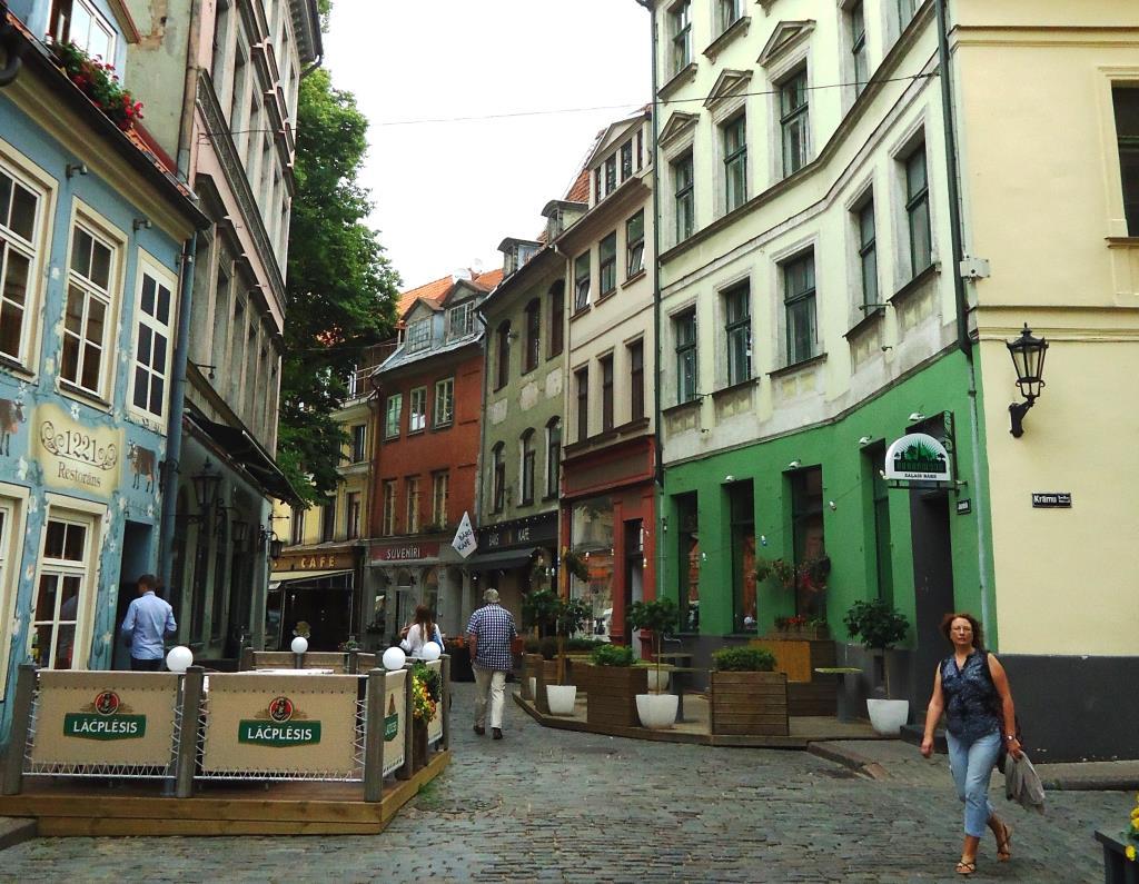 Улица в Риге. Блиц: улицы