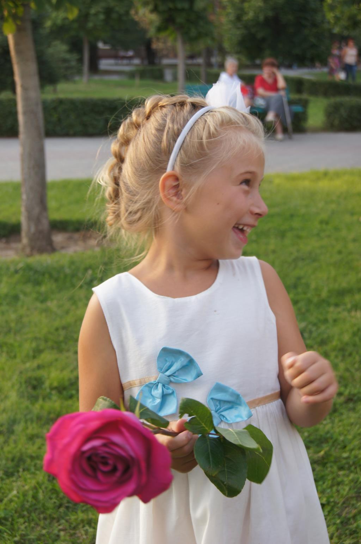 Выход на бал Золушки!(прическа,платье,цветы). Выход в свет