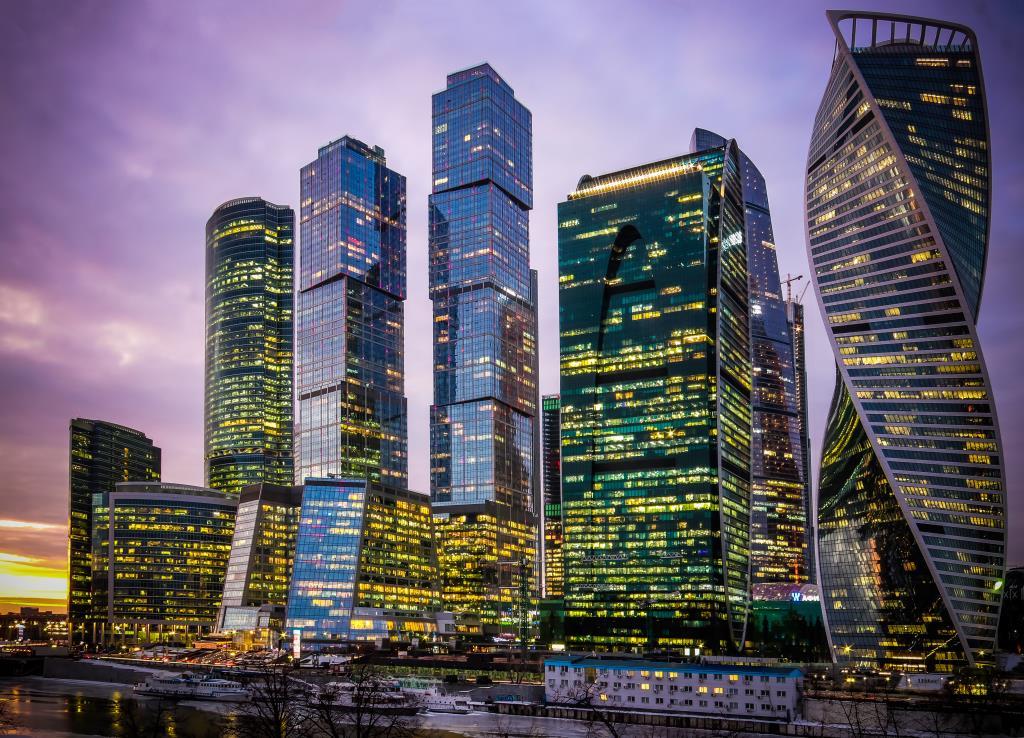 Москва-Сити. Блиц: башни