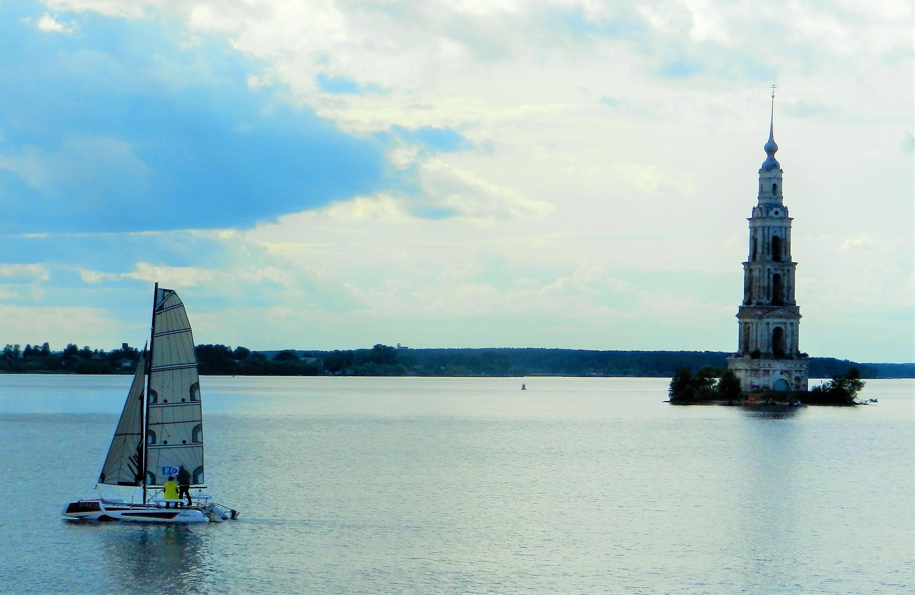 Главная достопримечательность города Калязин. Блиц: башни