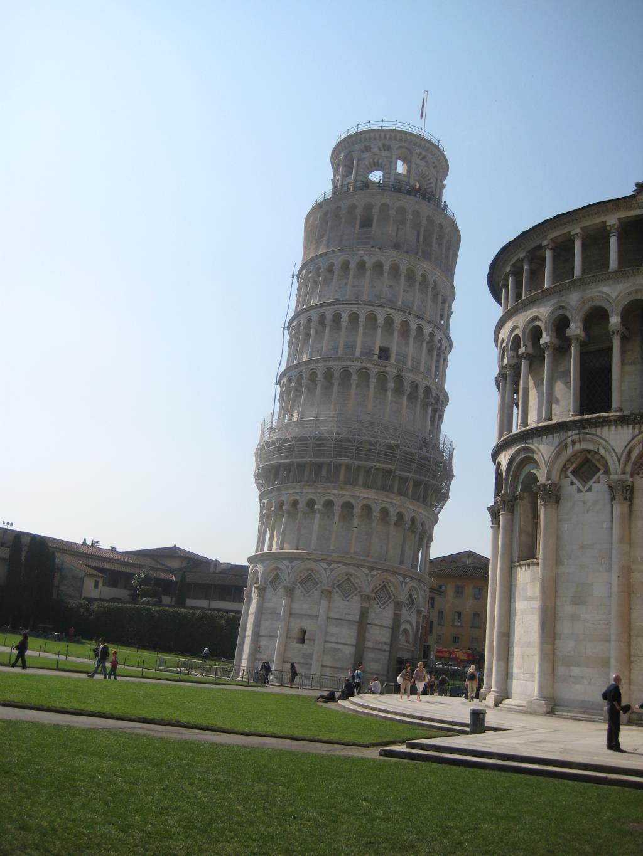 Вот она ...Пизанская башня.... Блиц: башни
