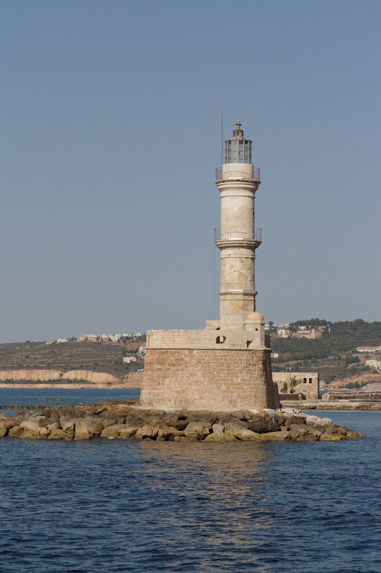 Маяк на о.Крит. Блиц: башни
