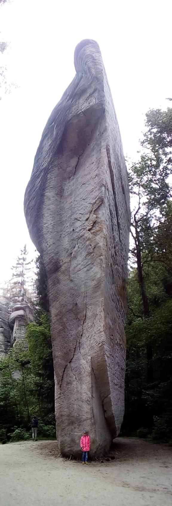 вот такой камень в Чехии . Блиц: камни