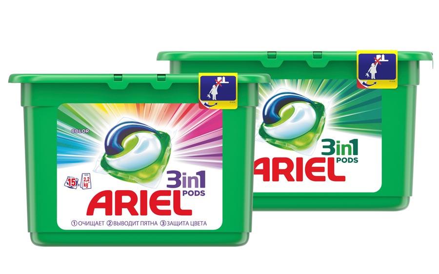 Ariel PODS 3 в 1