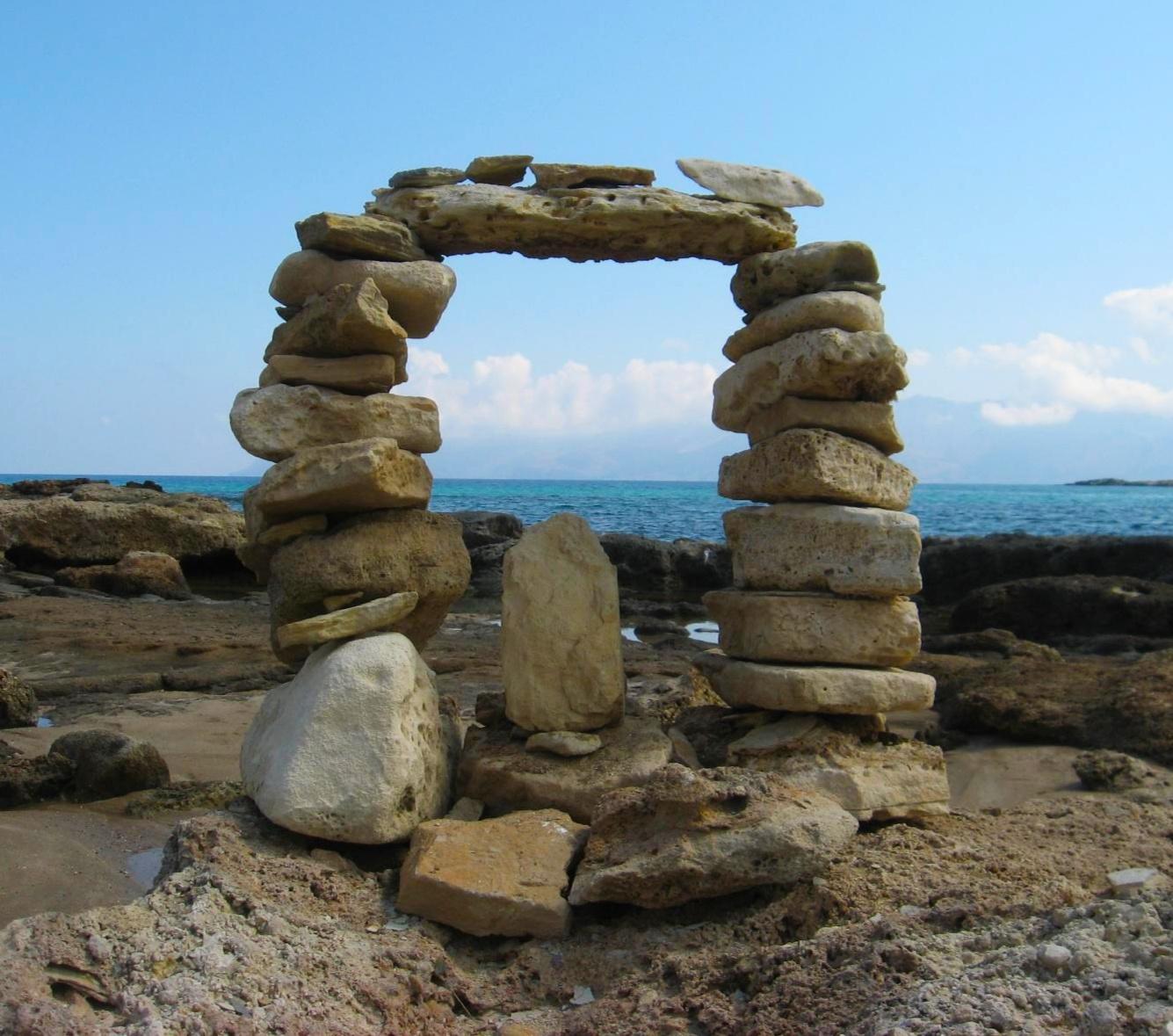 Зарисовочка о Крите. Блиц: камни