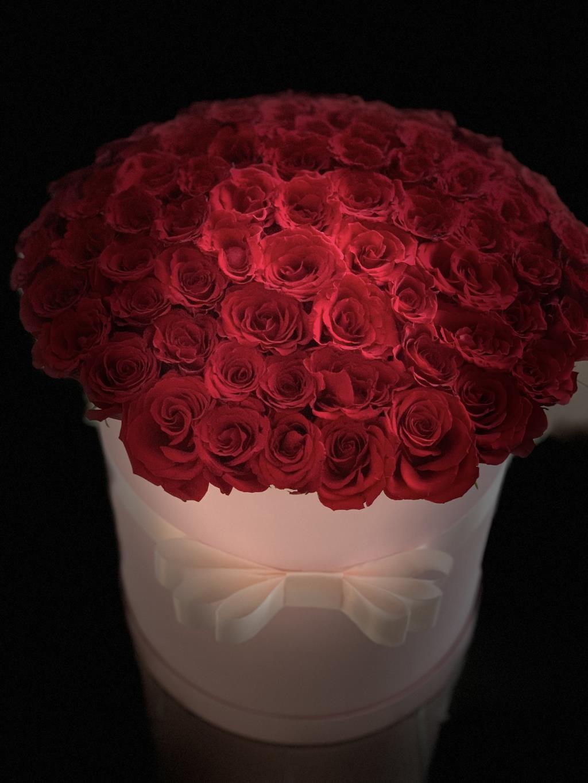 Букет любви. Блиц: красные цветы