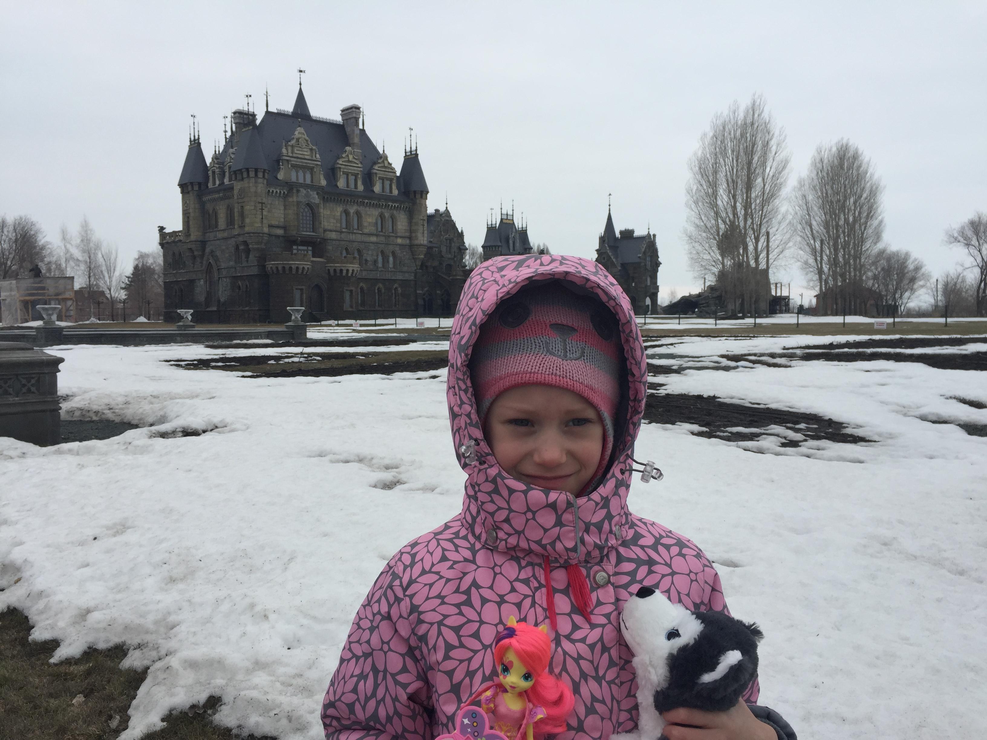 Замок Гарибальди Самарская область 5 апреля 2019. Весеннее настроение