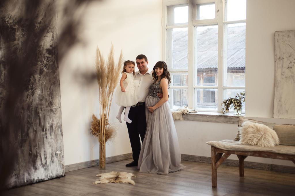 Наша счастливая семья. Фотоконкурс 'Выход в свет'. Выход в свет