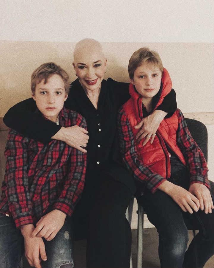 Татьяна Васильева внуки