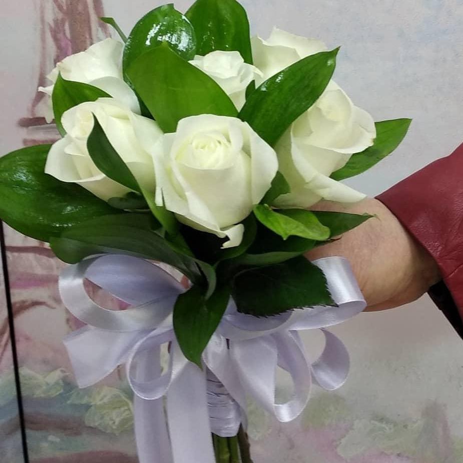 Нежность белых роз). Блиц: белые цветы