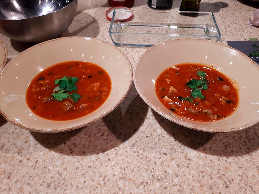 Суп харчо имеретинский