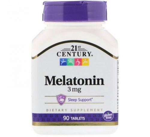21st Century, Мелатонин, 3 мг