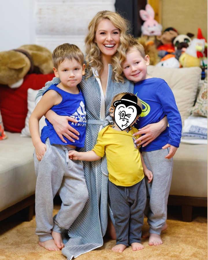 Мария Кожевникова дети