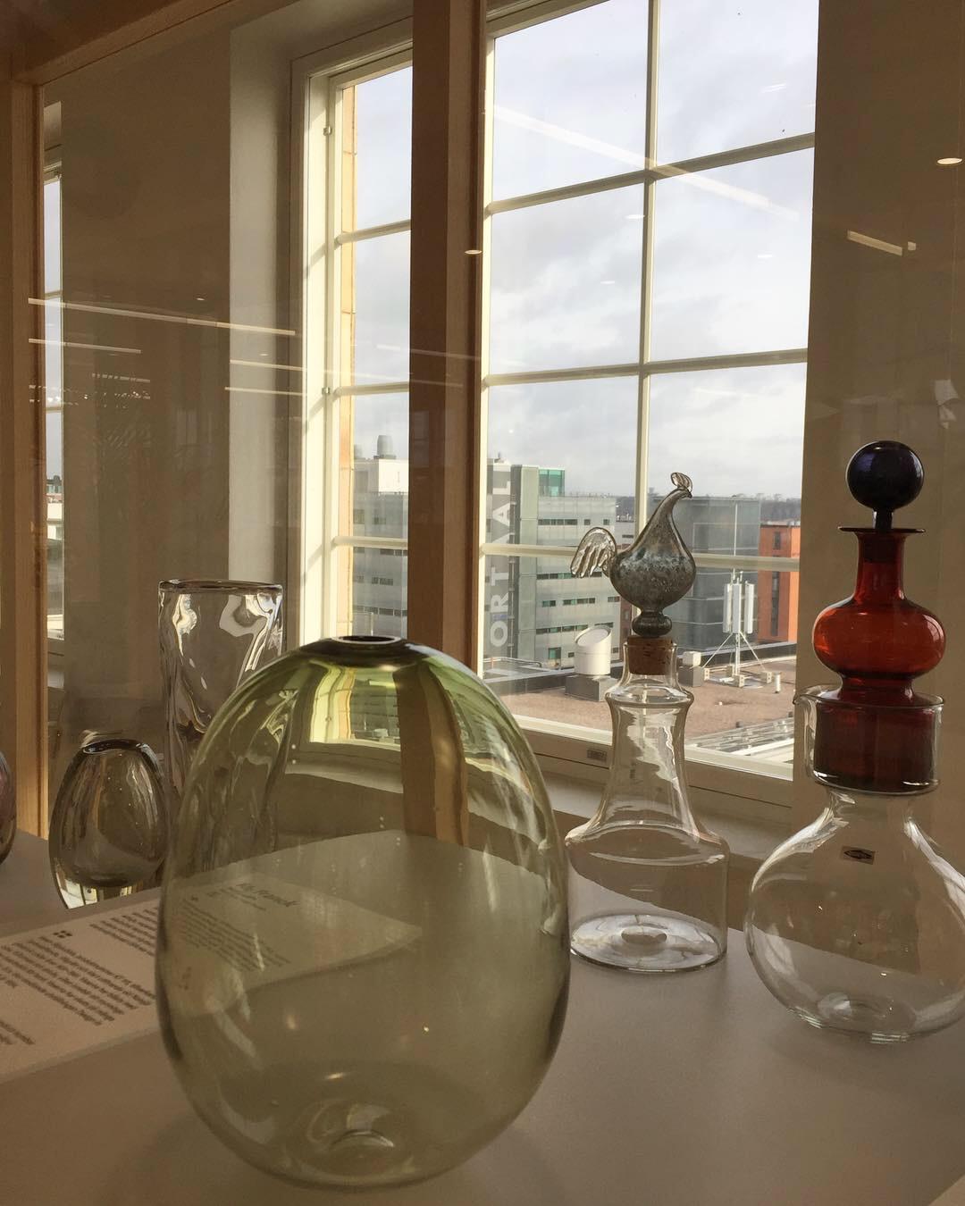Дизайн-центр Iittala & Arabia в Хельсинки. Блиц: из стекла