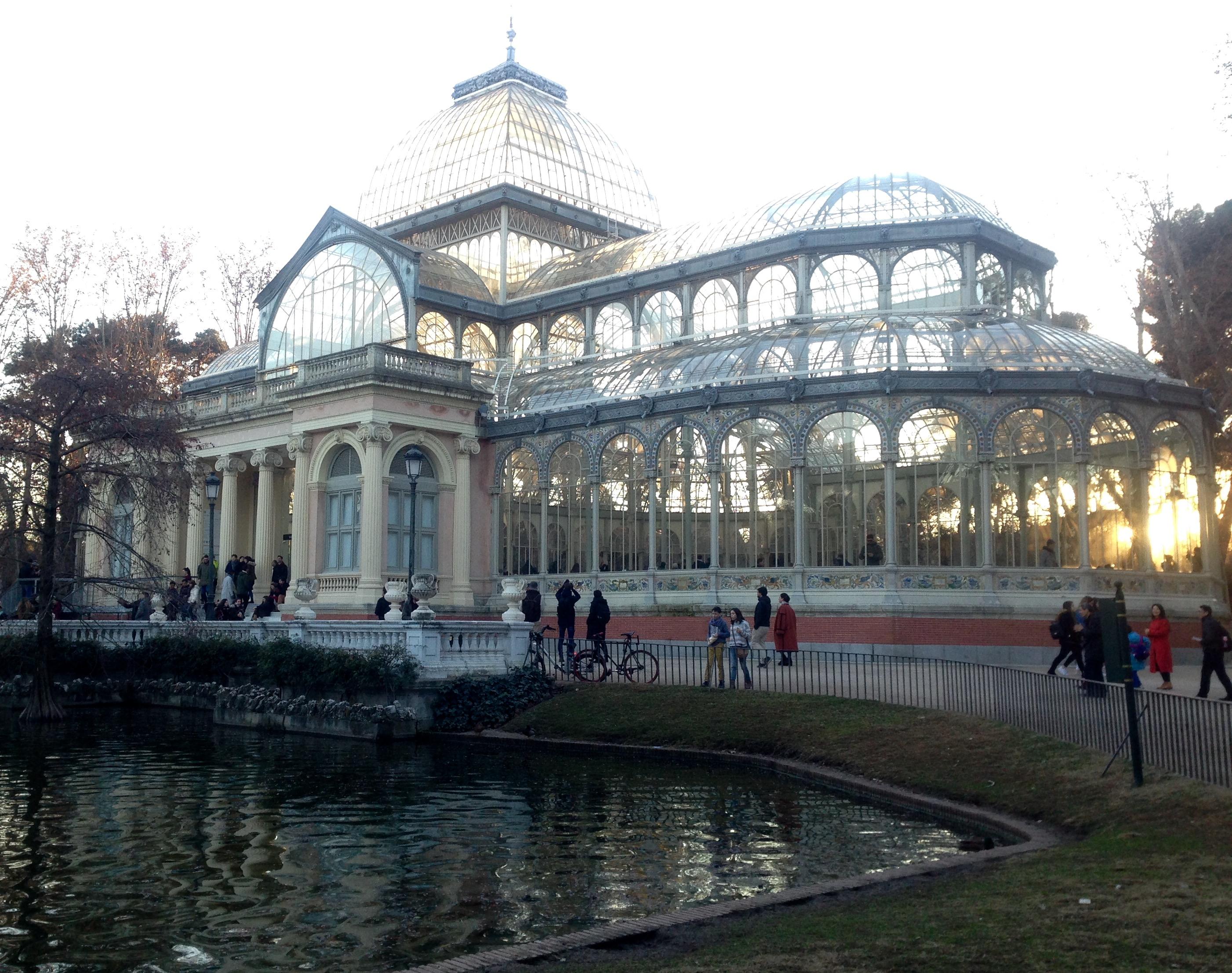 Хрустальный дворец в Мадриде. Блиц: из стекла