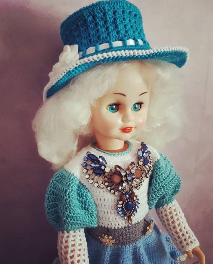 Куколка на стиле. Блиц: стильная кукла