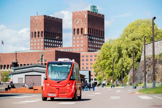 беспилотный электробус