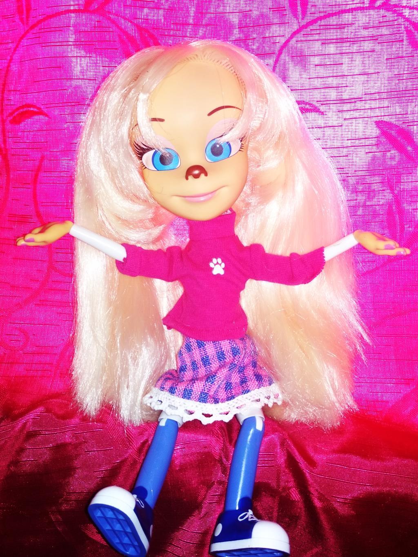 Здравствуйте!Я Роза Барбоскина!). Блиц: стильная кукла