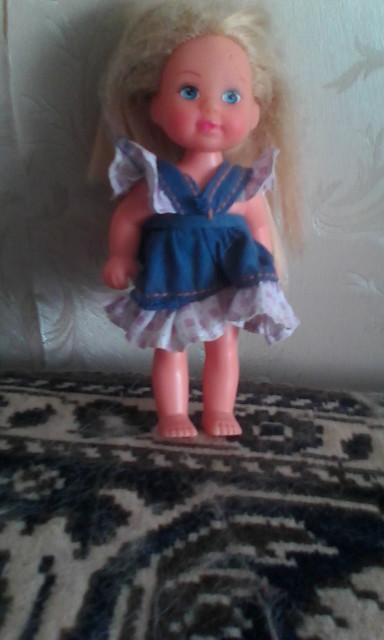 Маленькая Барби - любимая кукла Вари.. Блиц: стильная кукла