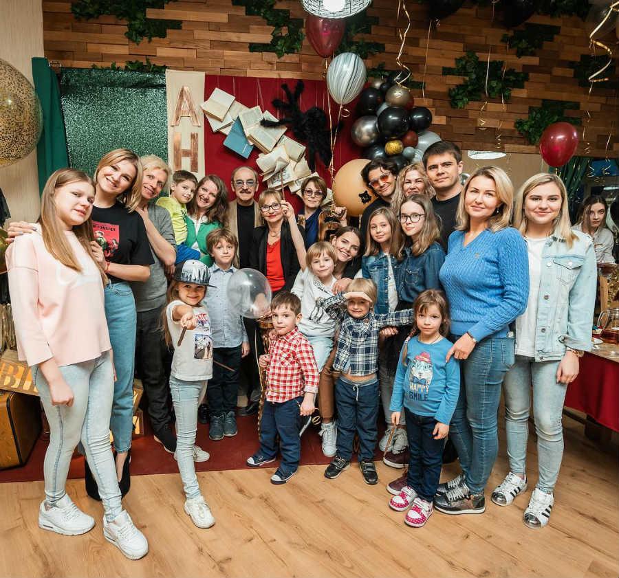 Елизавета Боярская семья