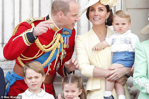 Кейт Миддлтон принц Уильям дети