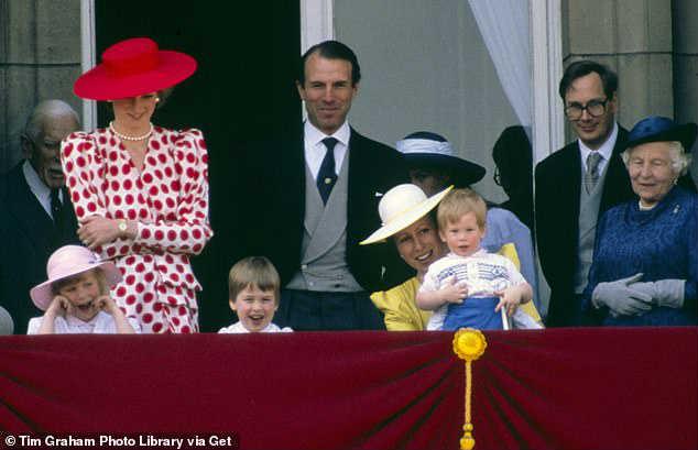 Букингемский дворец принц Гарри в детстве