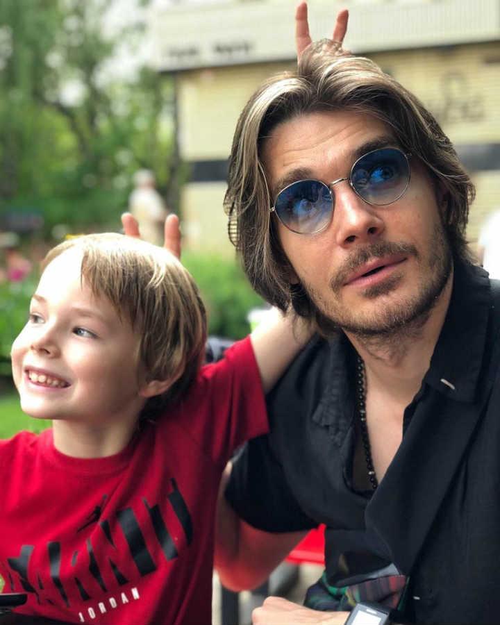 Максим Матвеев сын Андрей