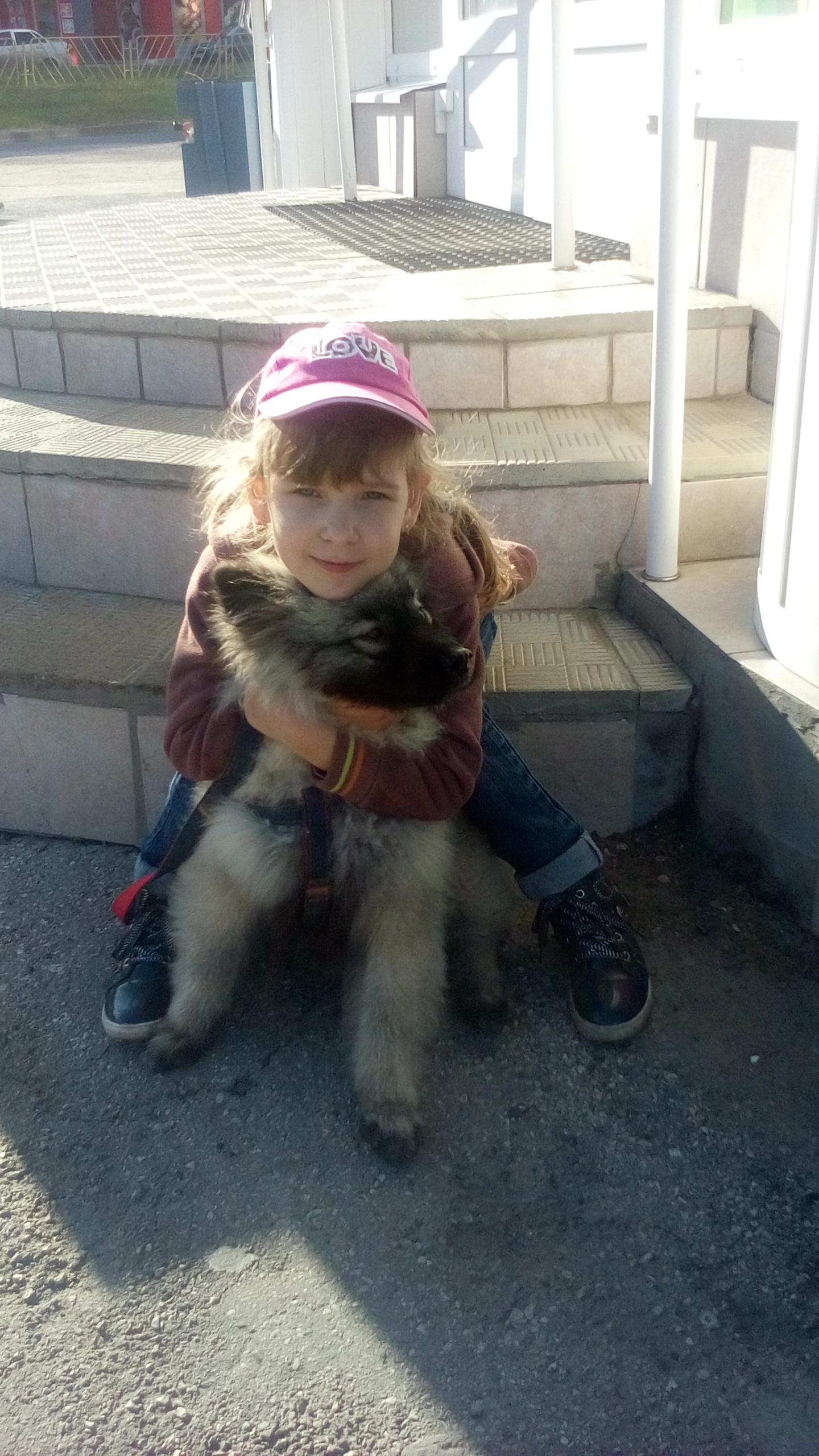 Наташа и Барсик. Моя собака