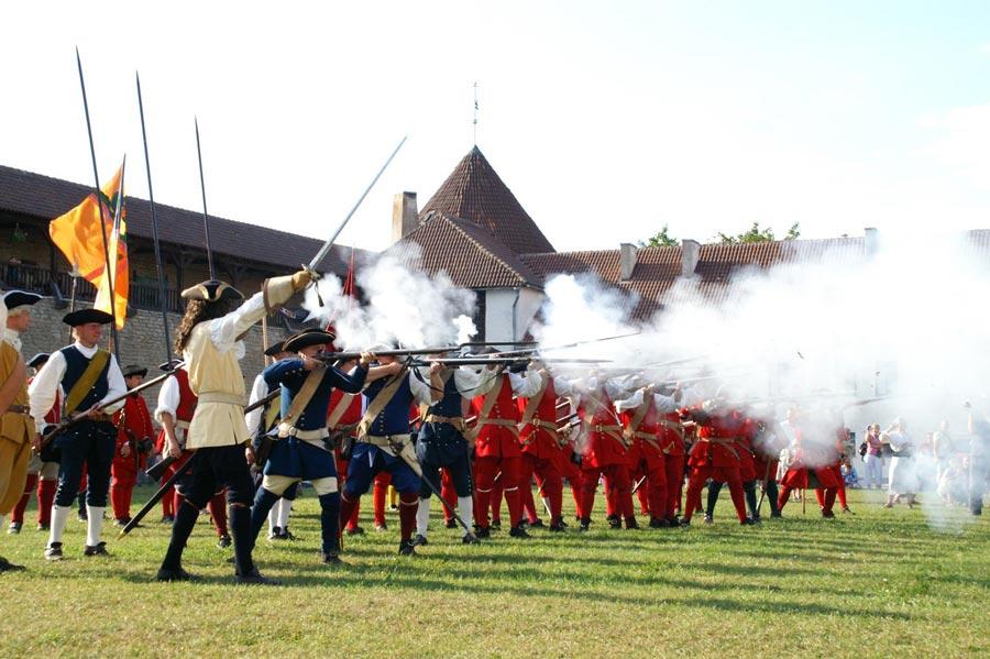 Исторический фестиваль Нарвская баталия