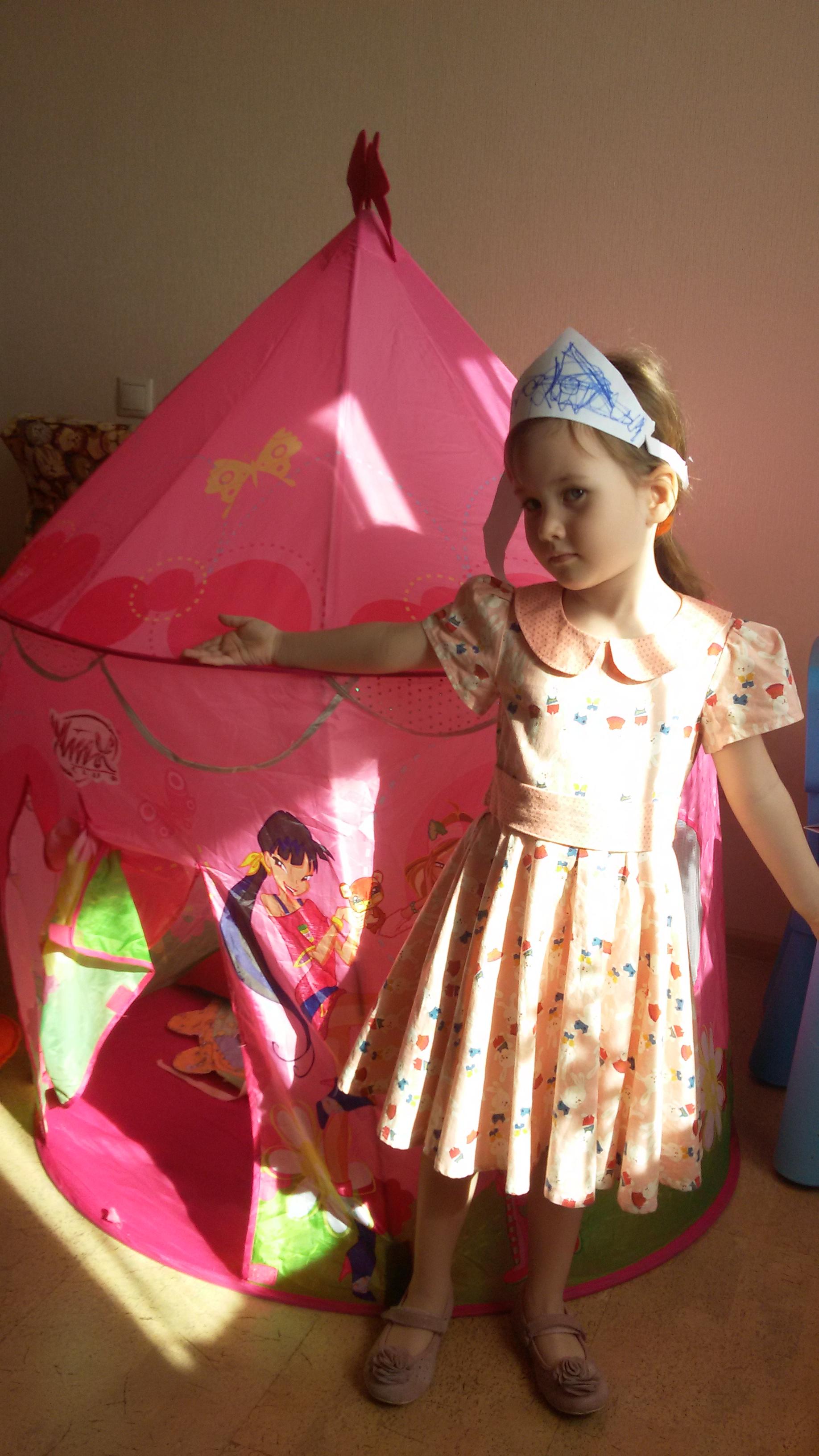 Настоящие феи носят самодельные волшебныекороны :). Я - тоже фея!