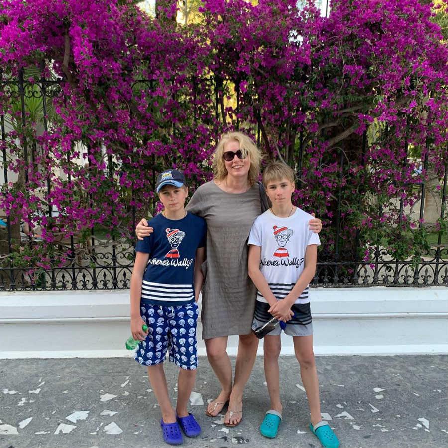 Мария Шукшина дети близнецы