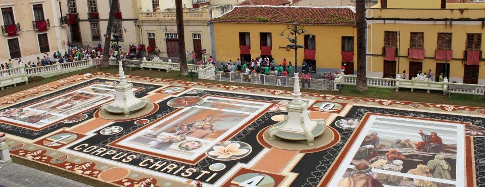 День ковров на Тенерифе