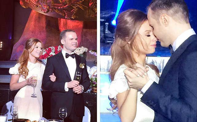 Юлия Савичева муж свадьба